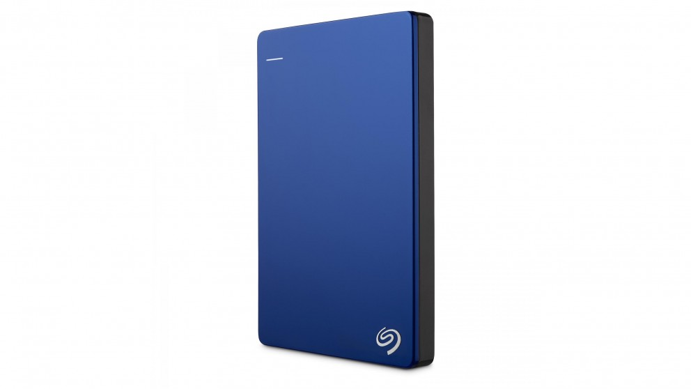 Seagate Backup Plus Slim 2TB Portable Hard Drive - Blue