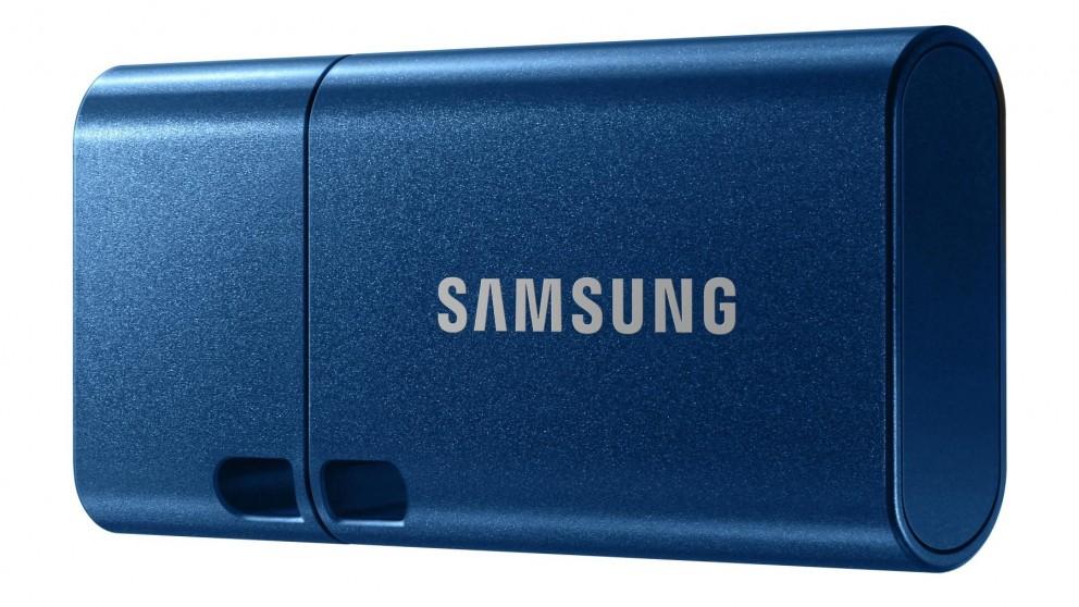 Samsung Type-C USB 3.1 64GB Flash Drive - Blue Metallic Chassis