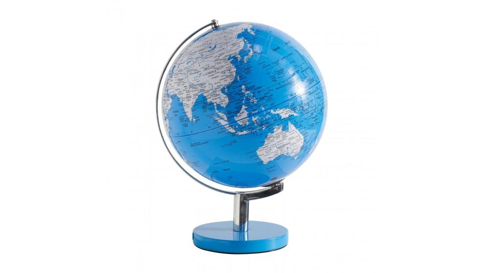 Globe Lamp - Blue
