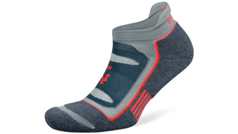 Balega Blister Resist No Show Legion Blue/Grey Socks - Large
