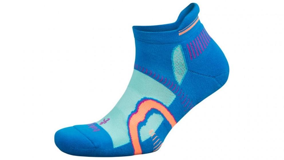 Balega Hidden Contour No Show Ethereal Blue/Aqua Socks
