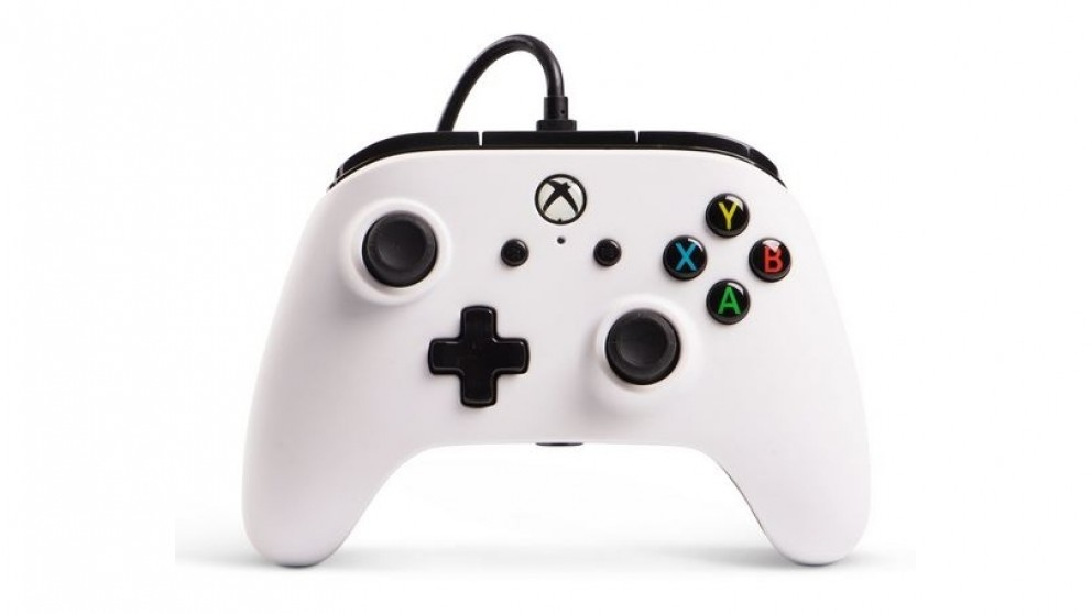 Power A Enhance Wired Controller for Xbox One - White