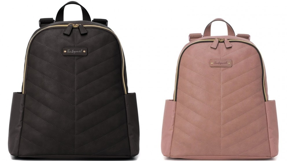 Babymel Gabby Vegan Leather Backpack