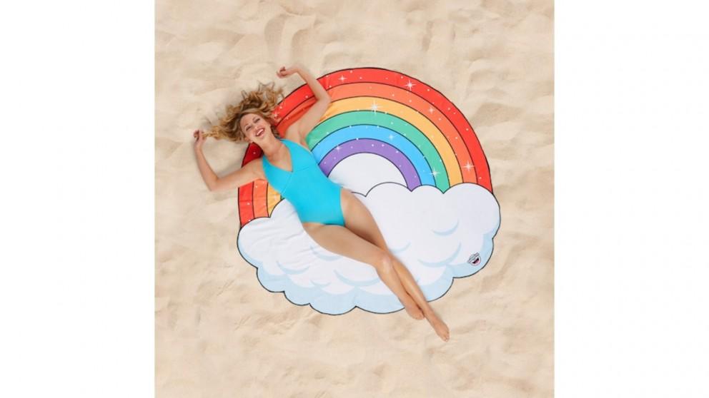 BigMouth Rainbow Beach Blanket