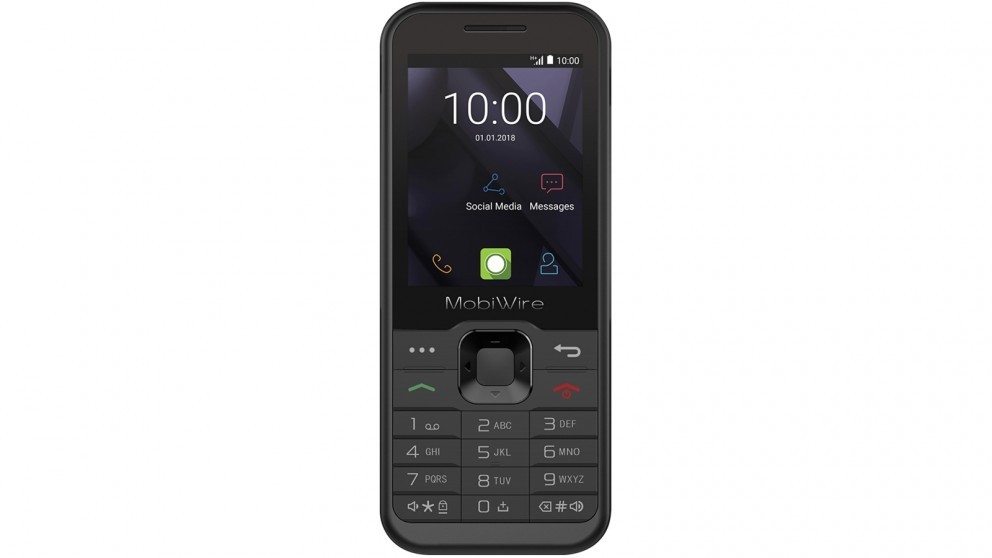 Vodafone Mobiwire Sakari 3G Pre-Paid Phone - Black