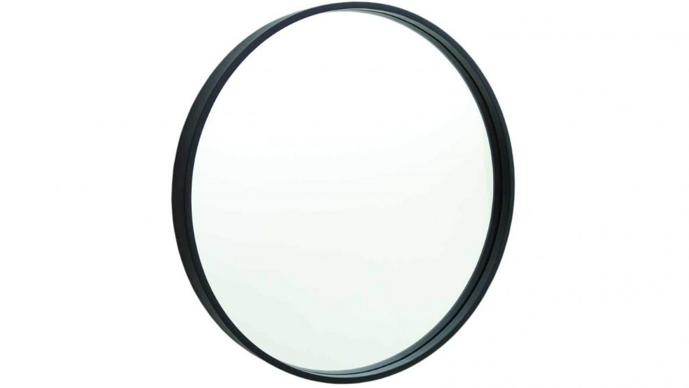 Thermogroup Contractor 600mm Round Frame Mirror - Black