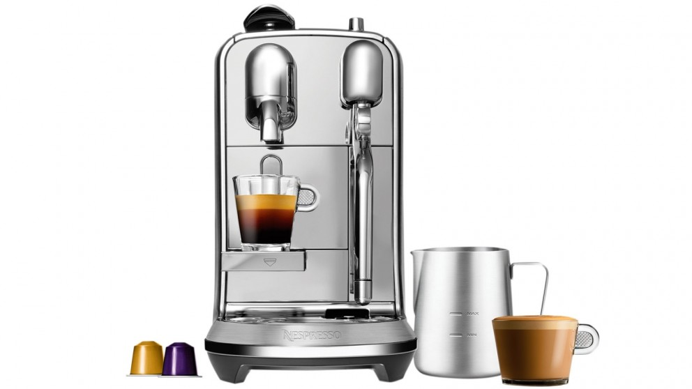 Nespresso creatista plus coffee machine stainless steel coffee machines - Machine nespresso 2 tasses ...