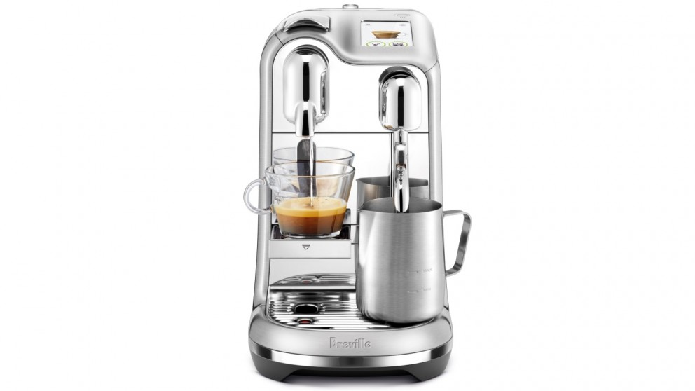 Nespresso Creatista Pro Coffee Machine by Breville - Brushed Stainless Steel