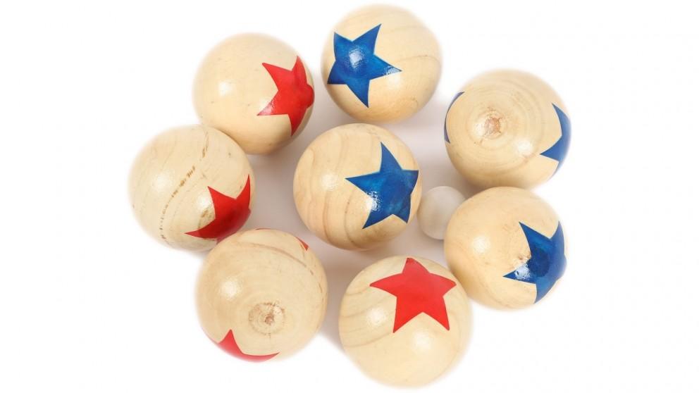 Jenjo Bocce Deluxe 8 Wooden Ball
