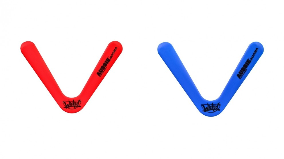 Wicked Aussie Booma Easy Throw and Return Polymer Boomerang