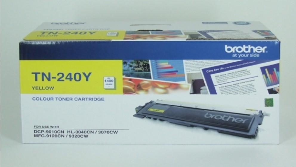 Brother TN-240Y Yellow Toner Cartridge