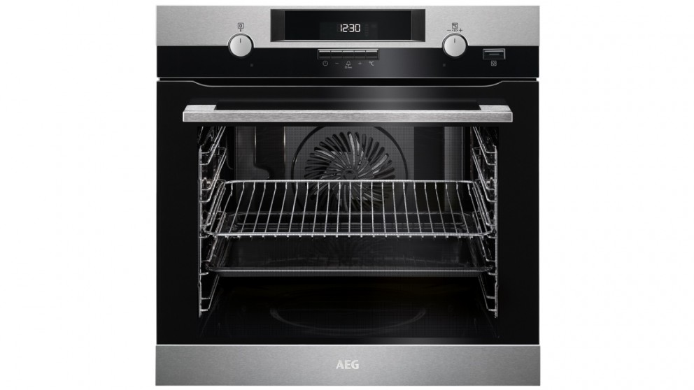 AEG 600mm 10 Function SteamBake Pyroluxe Oven