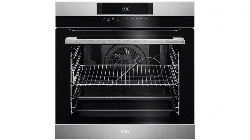 AEG 60cm SenseCook PyroLuxe Oven with Touch Control