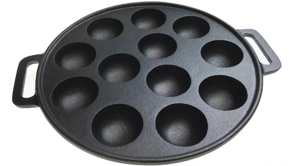 Boutique Retailer 12 Dimple Cast Iron Poffertjes Pan
