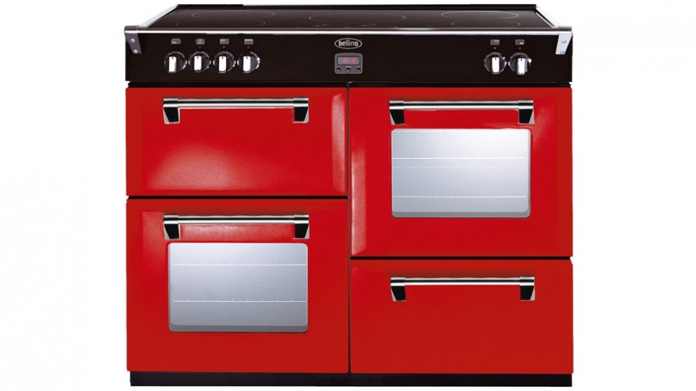Belling 1100mm Richmond Induction Range Freestanding Cooker - Red