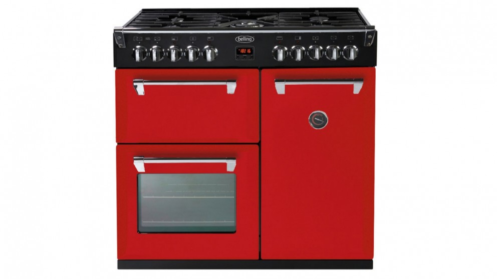 Belling 900mm Richmond Freestanding Oven Red