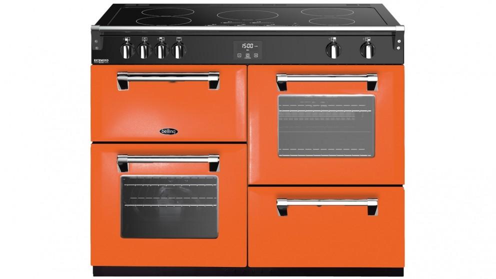 Belling 1100mm Colour Boutique Deluxe Induction Range Cooker - Peach Blush
