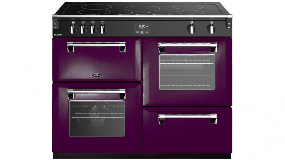 Belling 1100mm Colour Boutique Deluxe Induction Range Cooker - Wild Berry