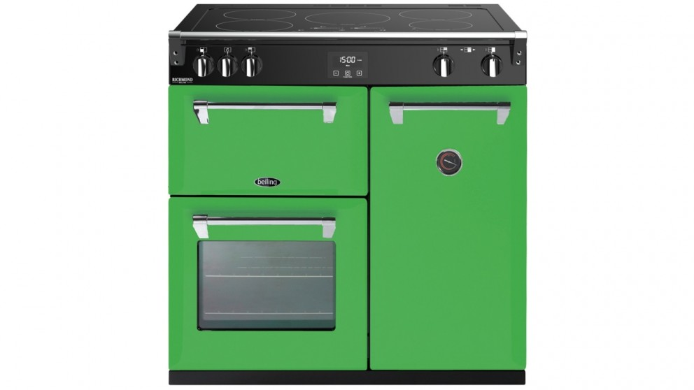 Belling 900mm Colour Boutique Deluxe Induction Range Cooker - Rolling Countryside