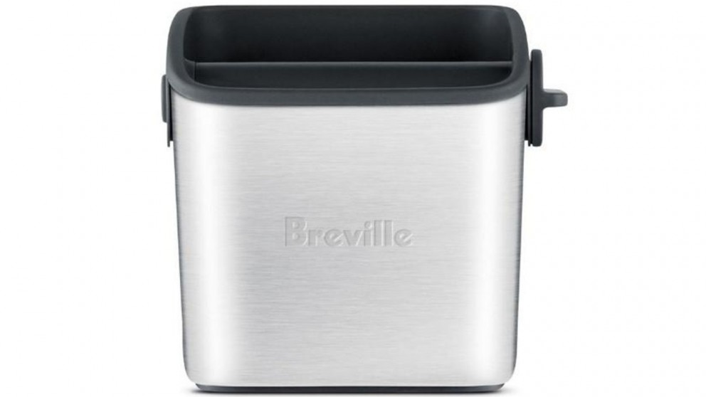 Breville The Knock Box Mini Coffee Accessory - Brushed Stainless Steel