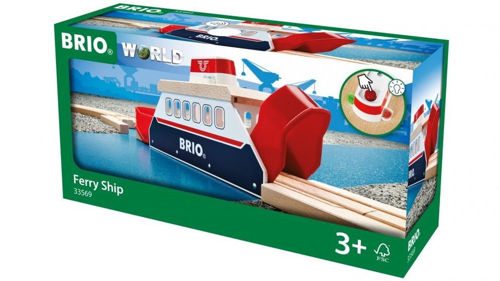 Brio 3 Pieces Ferry Ship