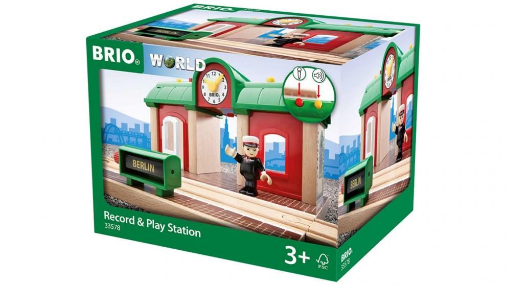 Brio Destination Record & Play Station
