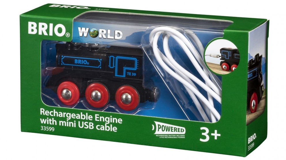 Brio Rechargeable Engine Train