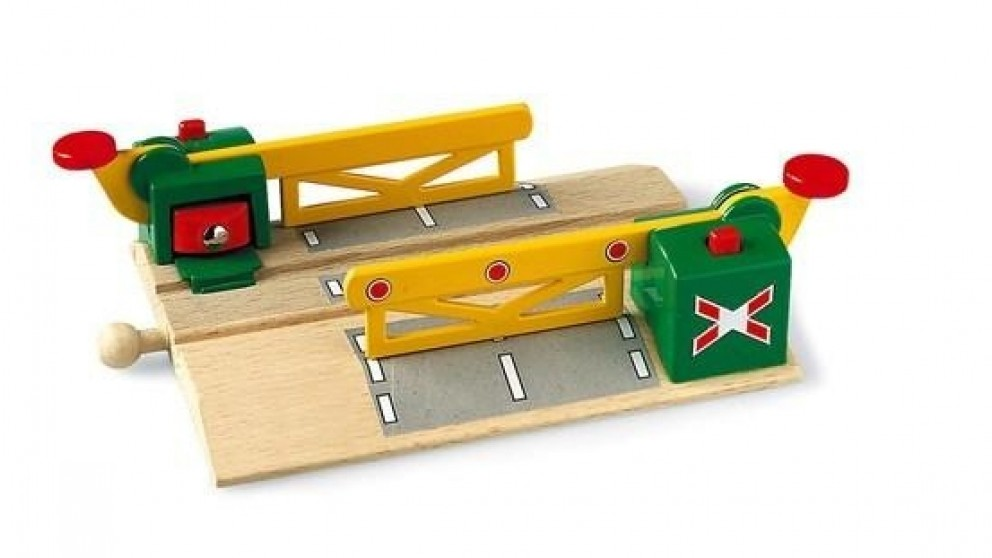 BRIO Magnetic Action Crossing for Railway