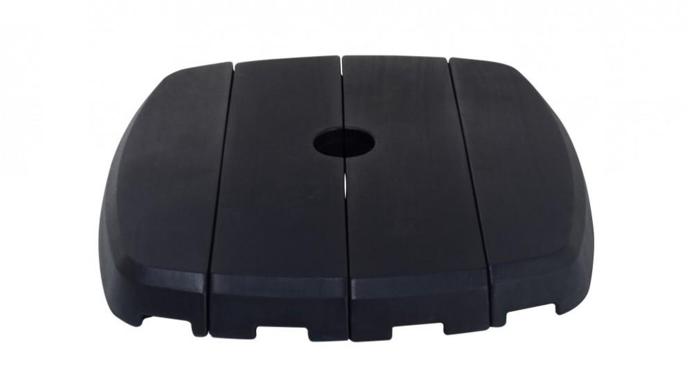 Shelta Resin Small 4 Piece Cantilever Umbrella Base