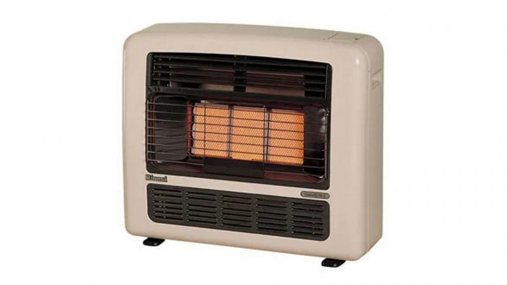 Rinnai Granada 252 Unflued Natural Gas Radiant Convector Heater - Off White