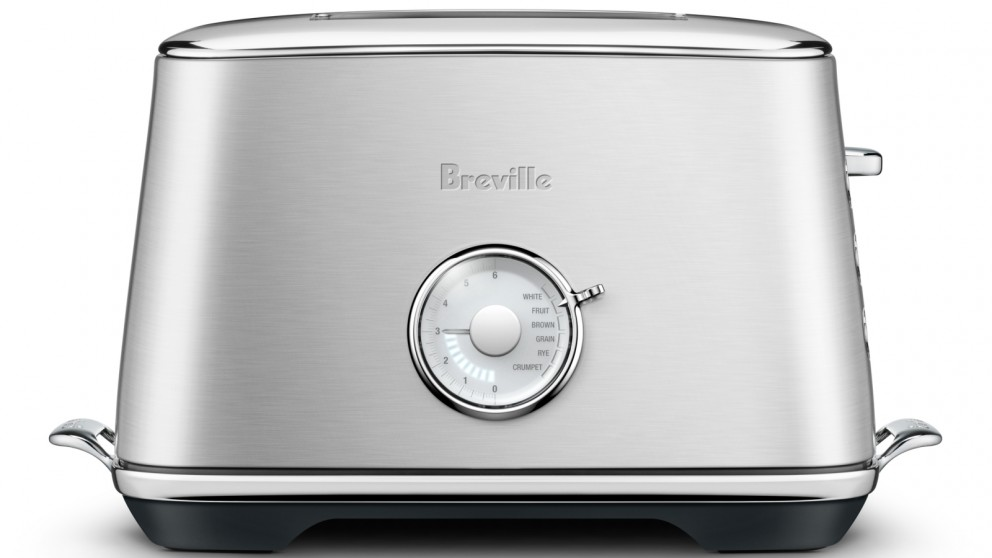 Breville Luxe 2 Slice Toaster - Silver