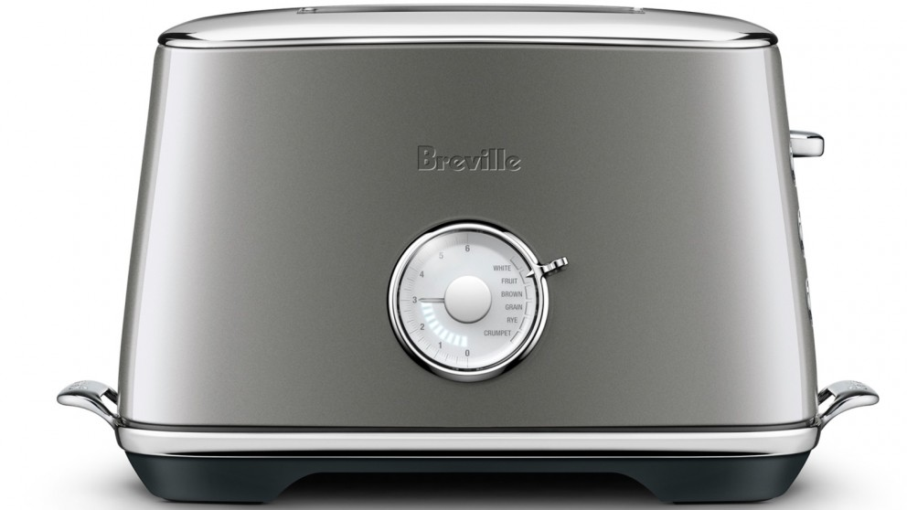 Breville Luxe 2 Slice Toaster - Smoked Hickory