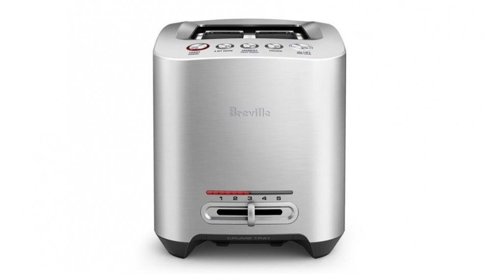 Breville The Smart Toast 2 Slice Toaster - Silver