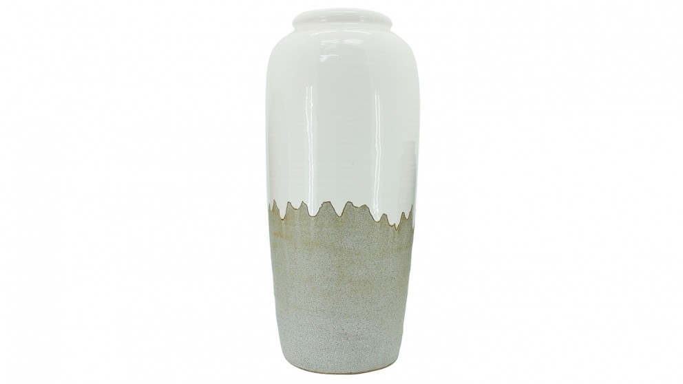Bubble Vase Large - White