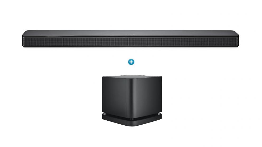 Bose 500 Soundbar + Bose 500 Bass Module Package - Black