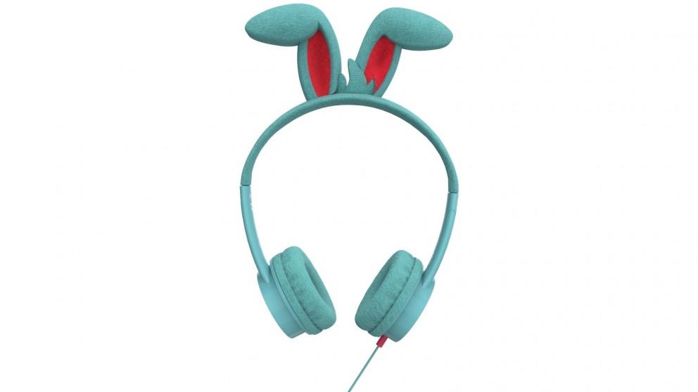 Zagg iFrogz Little Rockerz Costume Headphones - Bunny