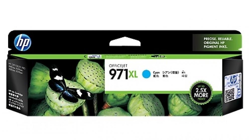 HP 971 XL High Yield Ink Cartridge - Cyan