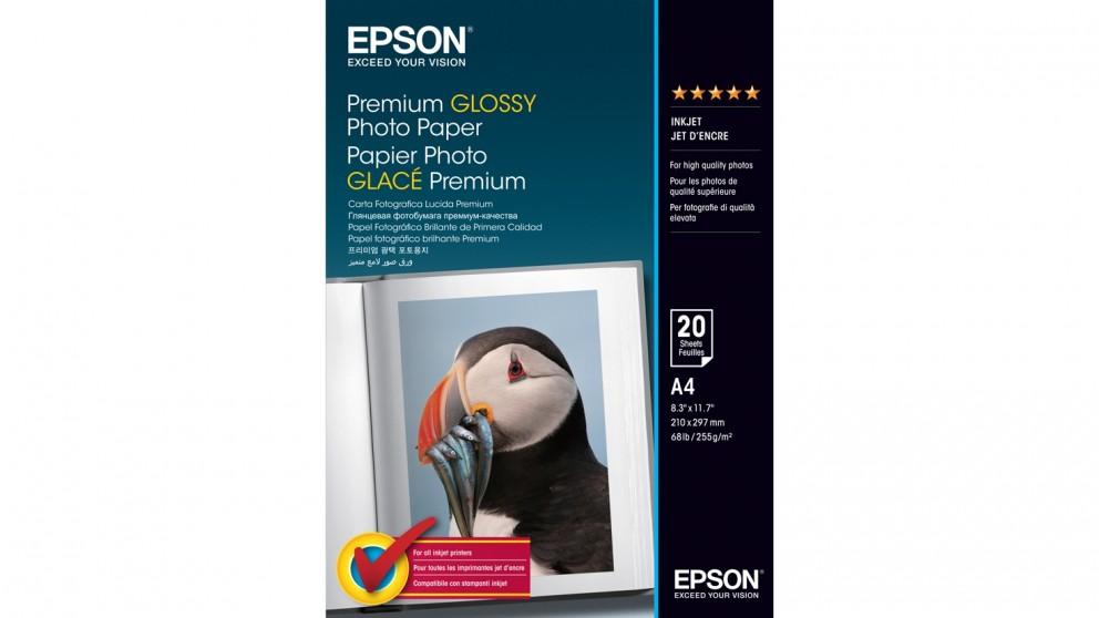 Epson 20 Sheet A4 Premium Glossy Photo Paper