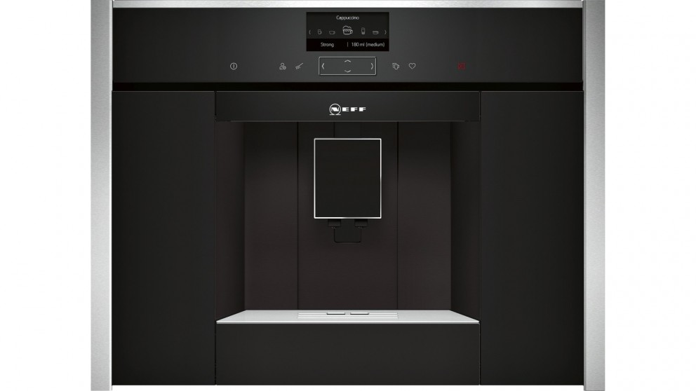 Neff N 45 Built-in Fully Automatic Coffee Machine - Black