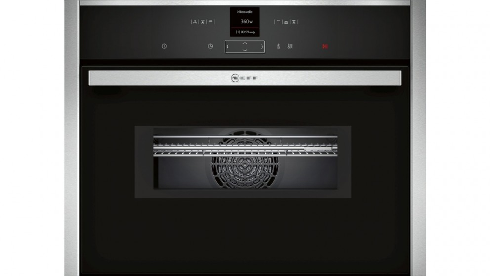 NEFF 45cm Compact Built-In Oven with Microwave