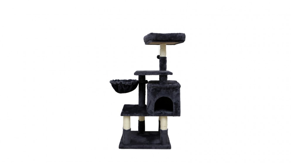 Catio Chipboard Flannel Cat Scratching Tree - Abode