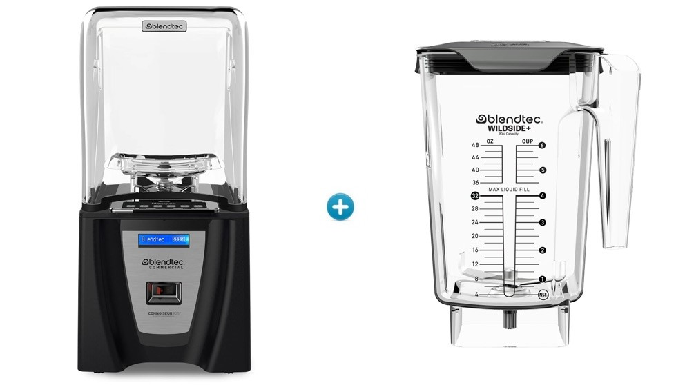 Blendtec Connoisseur 825 - 1x WildSide Jar Bundle