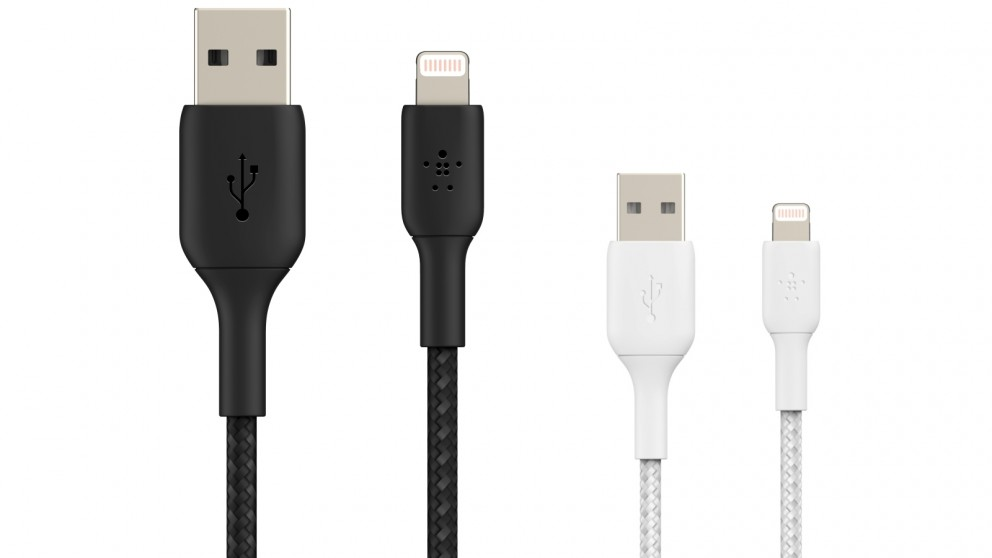 Belkin BoostCharge 1m Braided Lightning to USB-A Cable