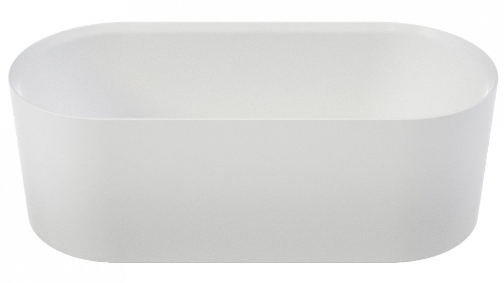 Caroma Elvire 1700mm Solid Surface Freestanding Bath
