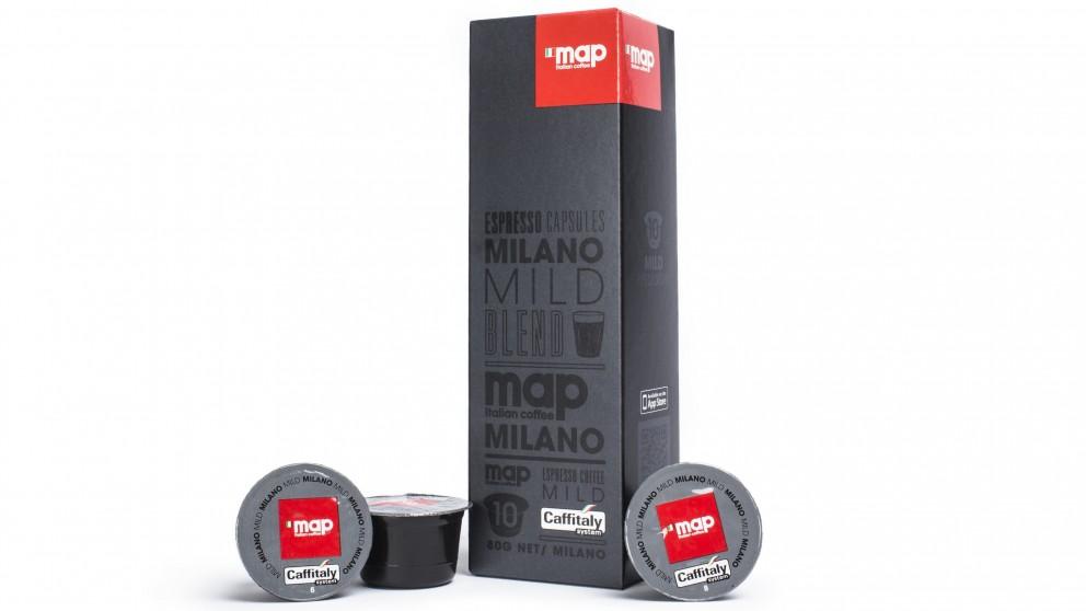Map Milano Blend Coffee Capsule 10 Pack