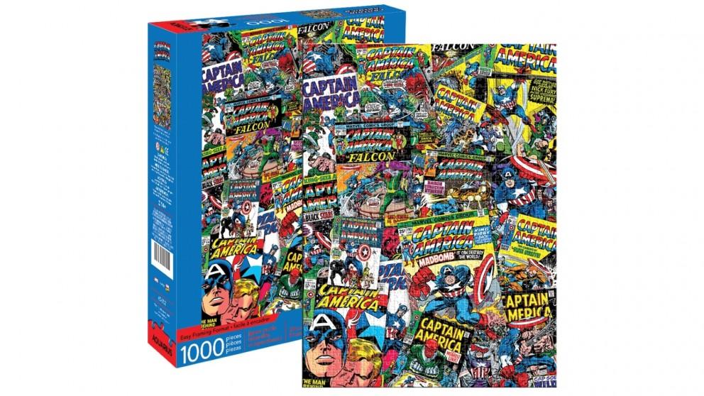 Captain America Collage 1000 Pieces Puzzle