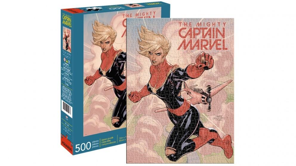 Captain Marvel Cover 500 Pieces Puzzle