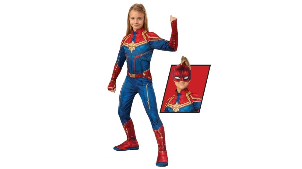 Captain Marvel 4-6 years old Child Costume