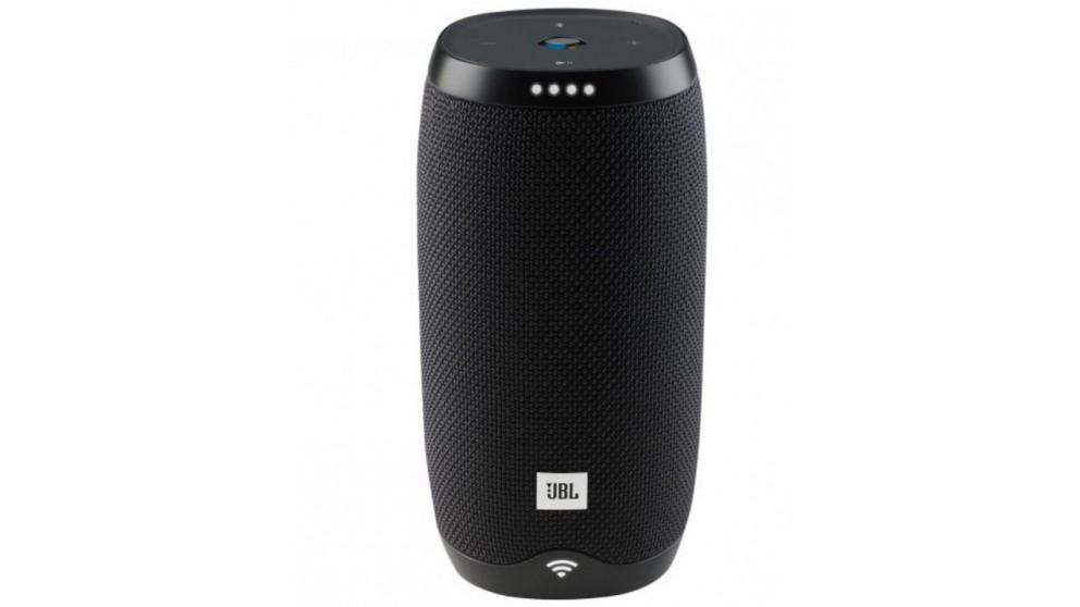JBL Link 10 Google Voice Activated Portable Waterproof Speaker - Black