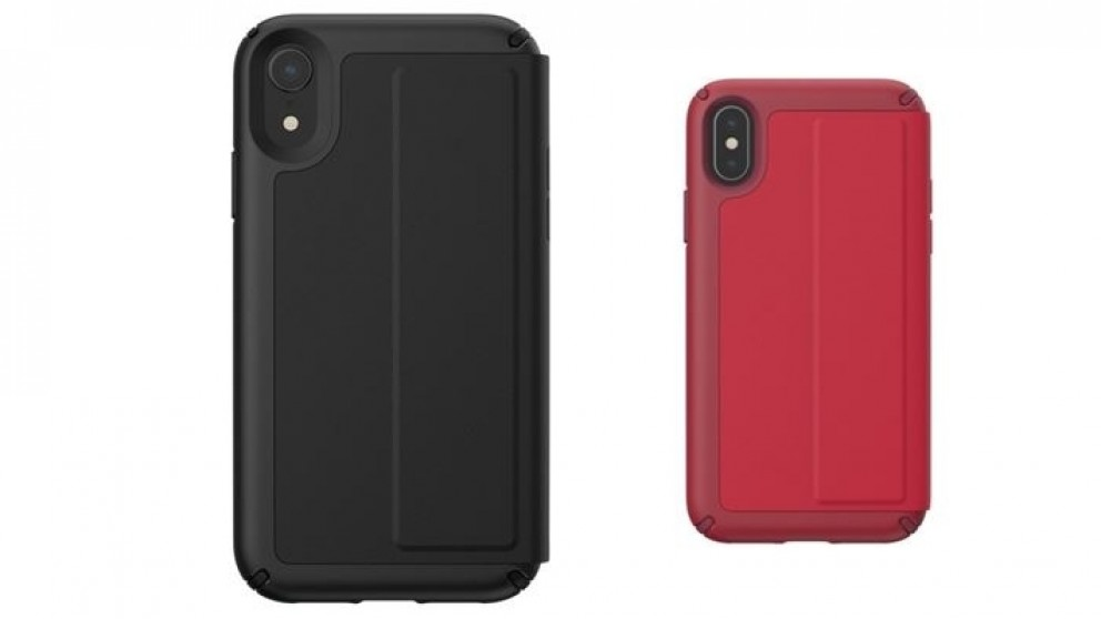 huge discount 8a1dc caeb8 Speck Presidio Folio Leather Case for iPhone XR